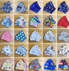 Triple layer Face Masks Washable Fabric Handmade AU adult kids children girls