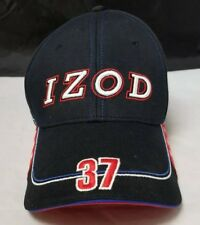 Izod Baseball Cap Trucker Hat Black Andretti Racing Indy Racing, Embroidered NEW