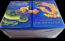 Harry Potter Signature Edition J.K.Rowling Hardback Boxed Set - good condition