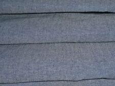 COTONE DENIM CHAMBRAY-Denim Blu-MODA/Craft Tessuto-Gratis P&P
