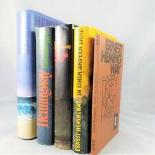 5x Ernest Hemingway - Bücherpaket Sammlung Bestseller Romane Konvolut Nobelpreis