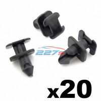 20x BMW 5 7 Series E32, E34, Z1 Windscreen Cowl & Scuttle Panel Trim Clips