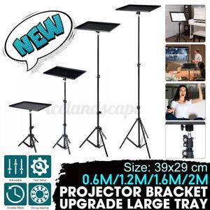 160cm Projektor Stativ Tripod Beamer Laptop Ständer mit Platte Höhenverstellbar