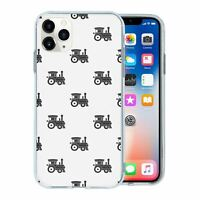 For Apple iPhone 11 PRO MAX Silicone Case Steam Train Pattern - S2814