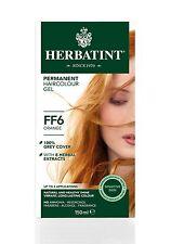 HERBATINT HERBAL NATURAL HAIR COLOUR DYE ORANGE FF6 150ml - AMMONIA FREE