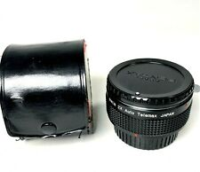 OWEN 2X Auto Telemax lens with Case and lens Caps  - Made in Japan