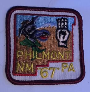 1967  Philmont Scout Ranch Patch Pennsylvania Contingent