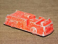 "VINTAGE MINI  TOY 2 7/8"" LONG RED MIDGETOY FIRE ENGINE TRUCK"