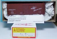 HO Gauge Box Car Kit Accurail 35239 Canadian Pacific RR Kit 40' Steel #254306