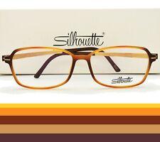 Silhouette Eyeglasses Frame TITAN ACCENT FR 1579 75 6020 55mm  VTG