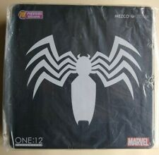 Mezco One:12 Spider-Man Black Suit PX New and Sealed!