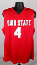 Ohio State Buckeyes Jersey Men's Xl Red #4 Basketball Jersey New St147