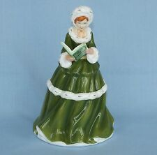 ROYAL DOULTON PORCELAIN LADY FIGURINE THE 12 DAYS OF XMAS ON THE 9th DAY OF XMAS