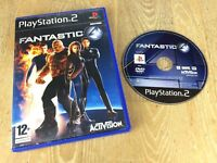 FANTASTIC FOUR 4 Marvel PS2 GAME / 60GB PS3 COMPATIBLE - ORIGINAL VGC
