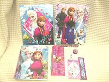 DISNEY 11PC FROZEN OLFA ELSA AND ANNA STATIONARY SCHOOL SUPPLY KIT SET-NEW!
