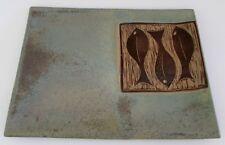 Suzanne Babineau New Brunswick Canada Pottery Fish Platter