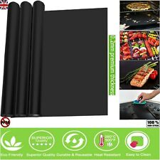 Heavy Duty Teflon OVEN LINER Protector Sheet Mat Non Stick Reusable Cooker BBQ