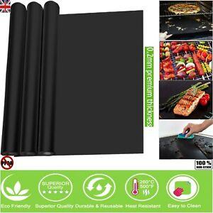 Heavy Duty Teflon OVEN LINER Protector Sheet Mat Non Stick Reusable Cooker BBQ