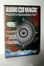 AUDIO CD MAGIC MASTERIZZATORE CD AUDIO USATO PC CD EDIZIONE ITALIANA GD1 36921
