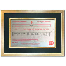 More details for princess diana birth certificate signed reproduction autograph mounted print 812