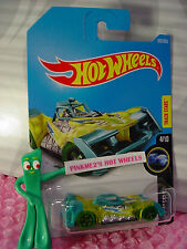 VOLTAGE SPIKE #203☆Yellow/Teal;5sp green☆X-RAYCERS☆2017 i Hot Wheels☆Case J/K