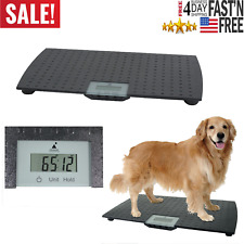 Redmon Large Digital Pet Weighing Scale Animals to 225 lbs Stand On Battery