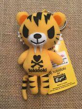RARE Tokidoki Tiger Plush Doll Keychain - YELLOW