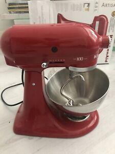 Kitchenaid Artisn 4.8L Mixer Red Centenary Model BNIB