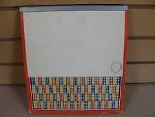 """Old Gambling Punch Board """"Nickel Special"""" Pays in Cigarettes Serial #3049W"""
