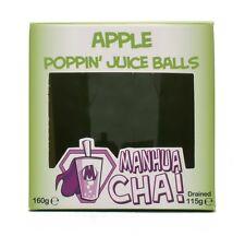 Manhua Cha Apple Popping Juice Balls - Bubble Tea Gift