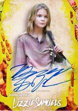 The Walking Dead Survival Box Autograph Card Brighton Sharbino As Lizzie 26/99