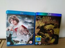 Clash Of The Titans Original & Remake Blu Ray UK Release