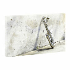 Top Wandbild Kunstdruck auf Leinwand XXL Saxophon-100cm*65cm V0410104