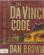 The Da Vinci Code by Dan Brown: 1st Ed.-1st Issue, Ex-Library, D/J