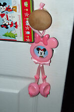 "Walt Disney World Minnie Mouse Ornament Holds 1"" round picture NIB"