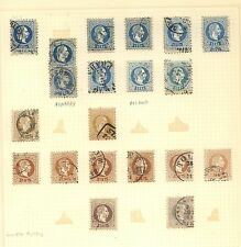 Austria lot of early used stamps over 200 stamps nice cancels