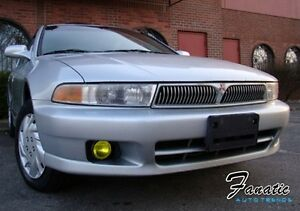 99-01 Galant Fog Light Yellow Overlays TINT Vinyl Rally JDM Precut Film wrap EDM