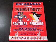 Florida Panthers Playoff Program 5/24/96 vs Pittsburgh Penguins Game 3