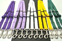 Deluxe 3 Way Dog Lead Splitter Adjustable 20mm Strong Webbing In Various Colours