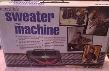 Bond Incredible Sweater Knitting Machine Made in England