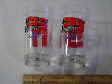 2 ESPN 25 Years Bud Light Glass Collectible S N NEWS RADIO CLASSIC MAGAZINE ETC