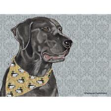 Black Labrador Retriever Fleece Blanket