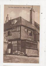Ye Olde Mermaid Inn Rye Sussex Vintage Postcard 685a