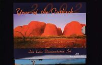 2002 UNC Coin SET Australia uncirculated