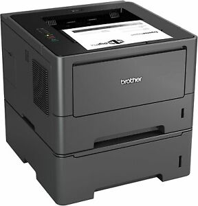 Brother HL-5450DNT A4 Mono Laser Printer - Duplex USB Network Option Tray 38ppm