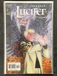 Lucifer Vol. 1 #1 NM- DC Vertigo 2000 First (1st) Printing, Sandman Netflix