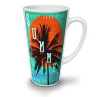 Summer Good Vibes NEW White Tea Coffee Latte Mug 12 17 oz | Wellcoda