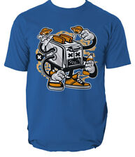 Tostadora Monster Camiseta comida rápida dibujos animados Comics s-3xl