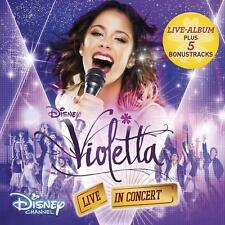 VIOLETTA-Live in concert (il ORIGINALE-colonna sonora per Tv-serie-staff.../0