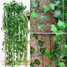 7.5ft Artificial Ivy Leaf Garland Plant Hanging Vine Fake Foliage Home Decor